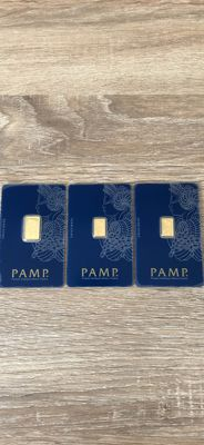 gold ingot Pamp Swiss