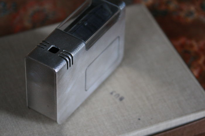 Solartronic Rowenta lighter in silver, c.1980