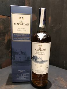 Macallan Boutique Collection 2017 Limited Edition - 2nd Release for 1st ever Macallan Boutique