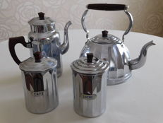 Set of kettles early 20th century