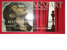 Beethoven And Mozart; 2 Legendary Composers On Total 30 Records (2 double) Various labels