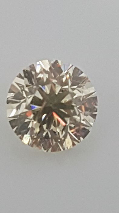 2.20 ct - Round Brilliant - White - I / VS1