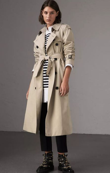 Burberry - Trench Coat foderato -
