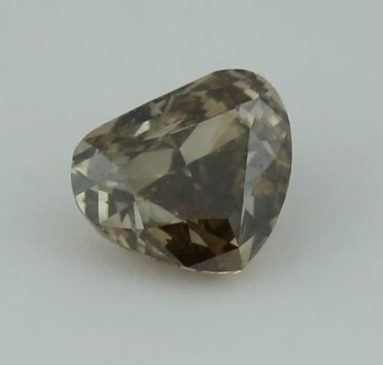 0.35 ct. Pear Modified Brilliant Natural Diamond -  Fancy Brownish Grey - SI 1