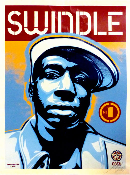 Shepard Fairey (OBEY) - Grand Master Flash