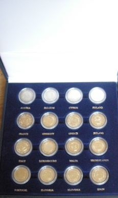 Europe - 2 Euro 2009 'EMU' (16 pieces) complete in case