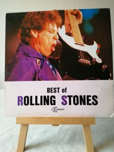 "Lot of 2 Rolling Stones ""Best of"" Korean press +"" The Rolling Stones in concert ""  Japan press."