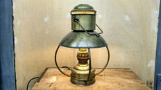 Brass cabin lamp - converted to 220v
