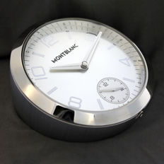 MontBlanc TimeWalker table clock – New (guarantee to be stamped upon purchase)