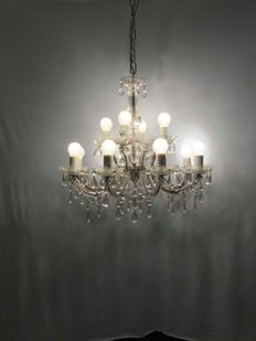 Chandelier in Maria Theresa style - Masiero Collection - Italy, 2007