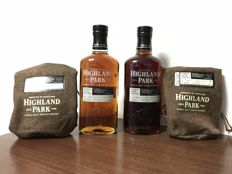 2 bottles - Highland Park Single Cask Series, The Whiskey House (TWH) World Exclusive