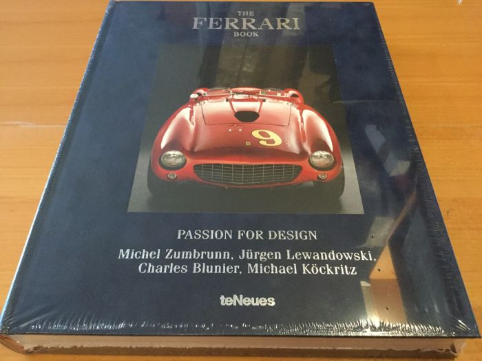 The Ferrari Book  - Das Ferrari Buch - by Jürgen Levandowski