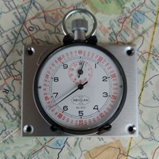 New Old Stock 1x vintage MEYLAN Flyback Stopwatch Dash set. Rally / Race Timer. 1970´s - 1980´s.