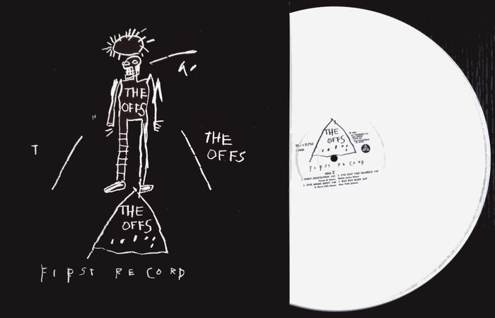 Jean-Michel Basquiat (after) x The Offs - First Record