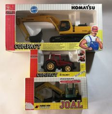 Joal - Scale 1:32 - Lot of 3 models 2 climbers and a tractor