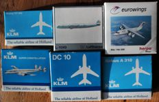 KLM Scale models