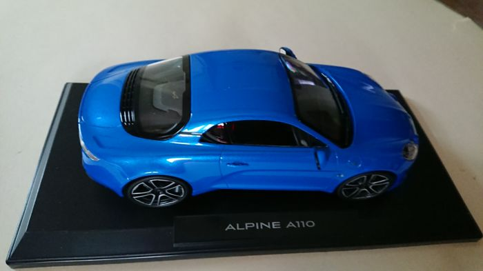 Norev - Scale 1/18 - Alpine Renault A110 2017 - Blue metallic