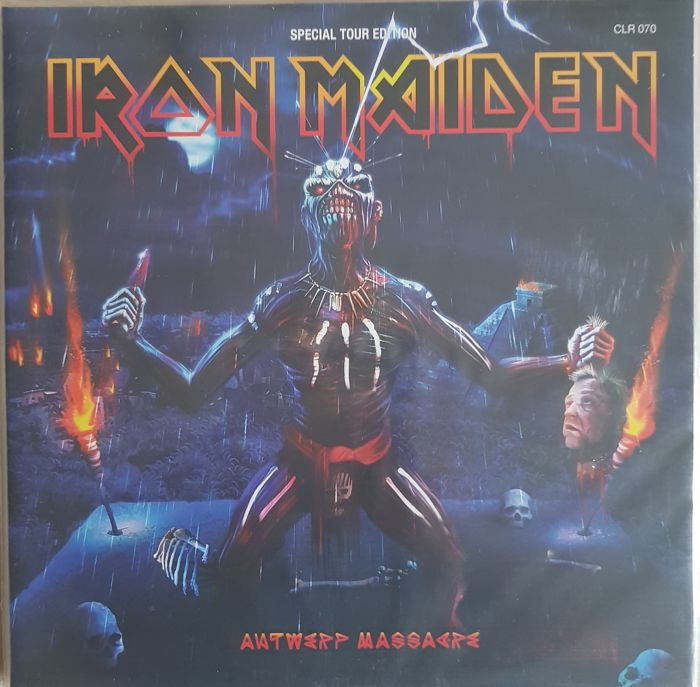 "Iron Maiden  ""Antwerp Massacre"" 2 lp  picture disc"