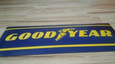 Goodyear Tire and Rubber Company - Porcelain enamel GOOD YEAR 80 / 30cm. Very good condition.