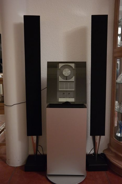 Bang & Olufsen HiFi set - BeoLab 8000 (2x) + Ouverture 2636 & free BeoCom 1401