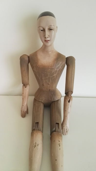 a large wooden mannequin catawiki