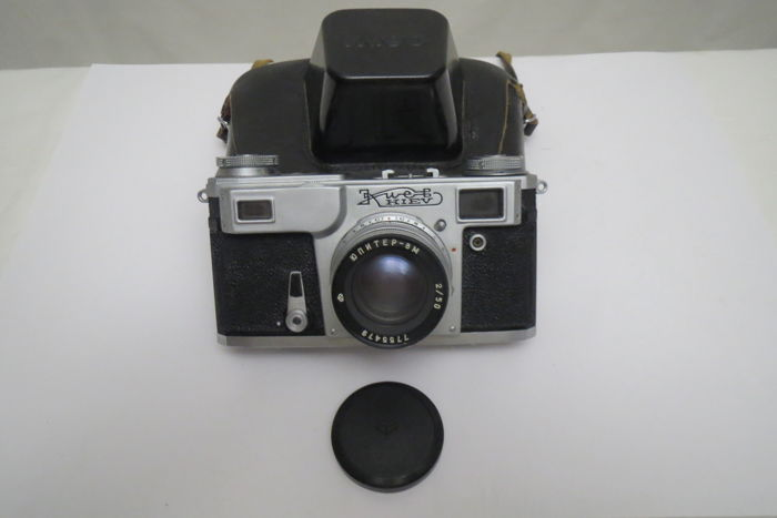 """Kiev-4АM"" Fully operable !!!  (prototype Contax Carl Zeiss Jena). The USSR 1958—1982 ""Arsenal""(Kiev)."