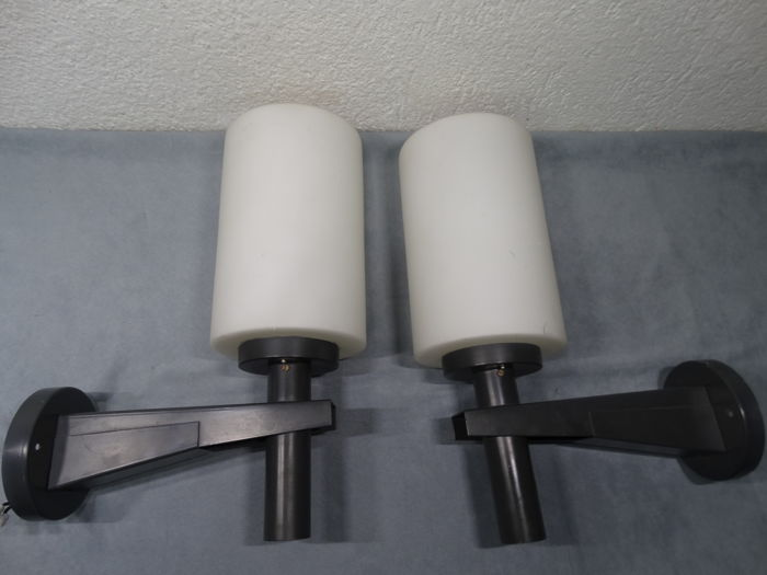 Unknown designer - Outdoor wall lamp (2x)