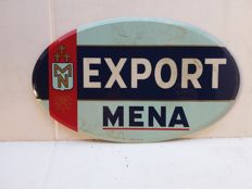 Rare very old glacoide export mena sign - 1950