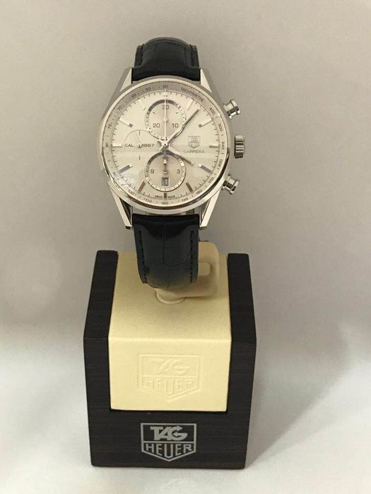 TAG Heuer - Carrera Calibre 1887 Chronograph - CAR2111.FC6266 - Heren - 2018