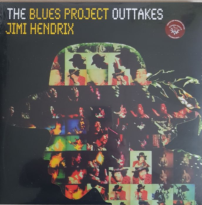 "Jimi hendrix  A lot 4 lps""The blues project outtakes"" 2 LPs"