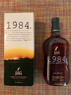 Isle of Jura 1984 - George Orwell bottling