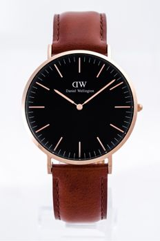 Daniel Wellington - Classic Reading Black Dial 40 MM Watch - DW00100126 - Ανδρικά - 2011-σήμερα