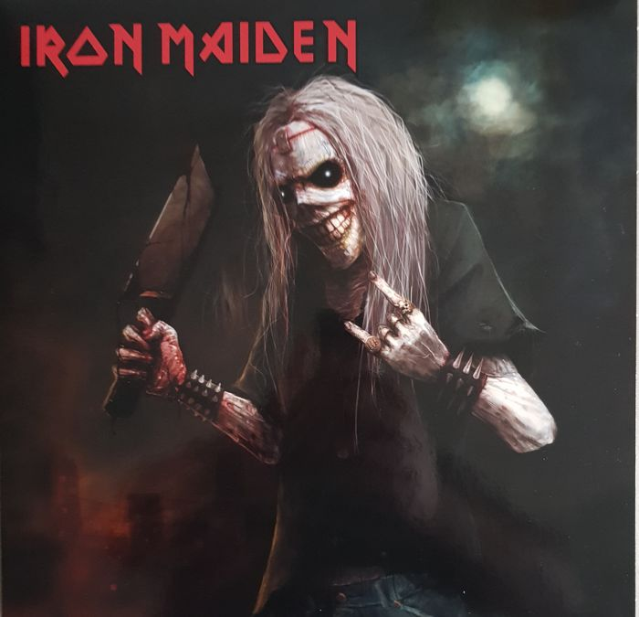 Iron Maiden  live in Stockholm  3 LPs