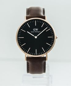 Daniel Wellington - Classic Reading Black Dial 40 MM Watch - DW00100125 - Ανδρικά - 2011-σήμερα