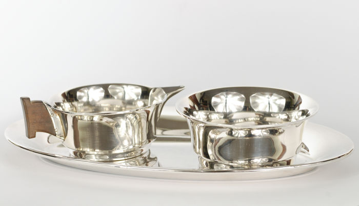 Art Deco Cream set - Germany - early 20th century