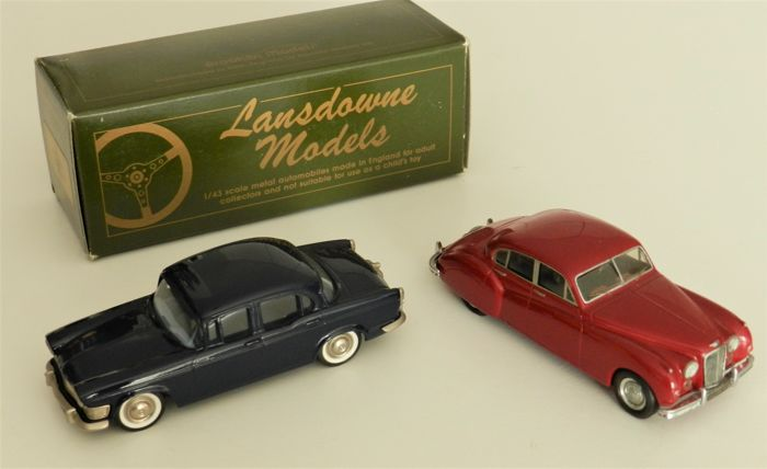 Lansdowne / Provence Moulage - Scale 1/43 - 1961 Humber Super Snipe and 1956 Jaguar Mk VII