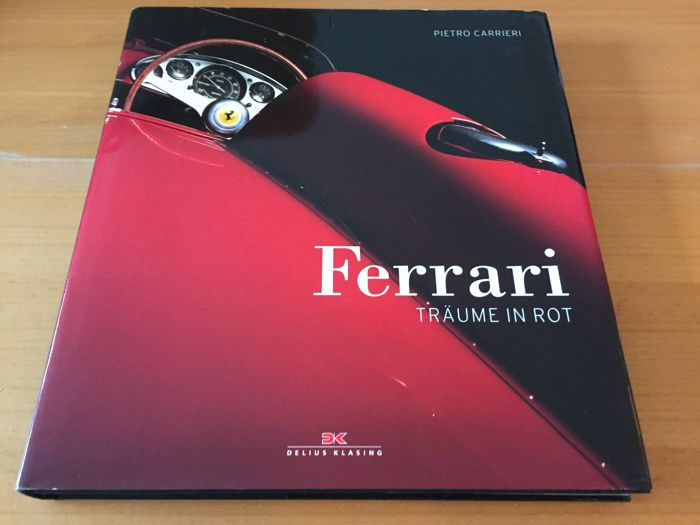 Ferrari - dreaming in red - book