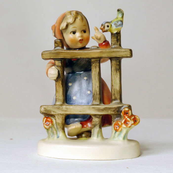 "Goebel Hummel Figurine No. 203 ""Signs of Spring"""