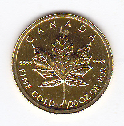 Canada - 1 dollar 2004 Maple leaf - Gold
