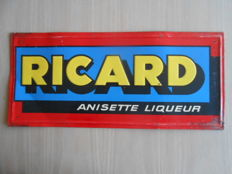 Ricard : old advertising sign, 1950s/60s