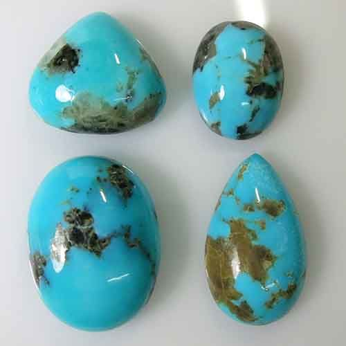 Natural turquoise - 16.0 X 11.9 X 6.6 mm - 55.075 ct