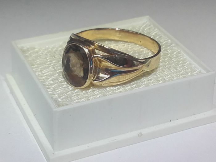Beautiful 14k gold ring size 19 30mmmm 2 5grams No reserve