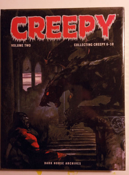 Creepy Archives Volume 2 - Collects Issues 6-10 - Dark Horse Comics - Hardback