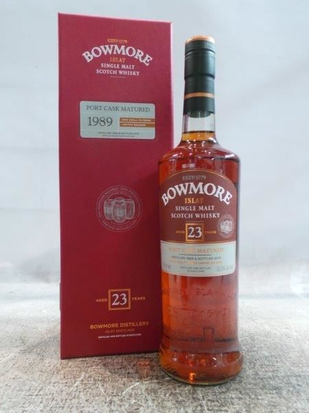 Bowmore 1989 23 years Port Cask Matured - OB