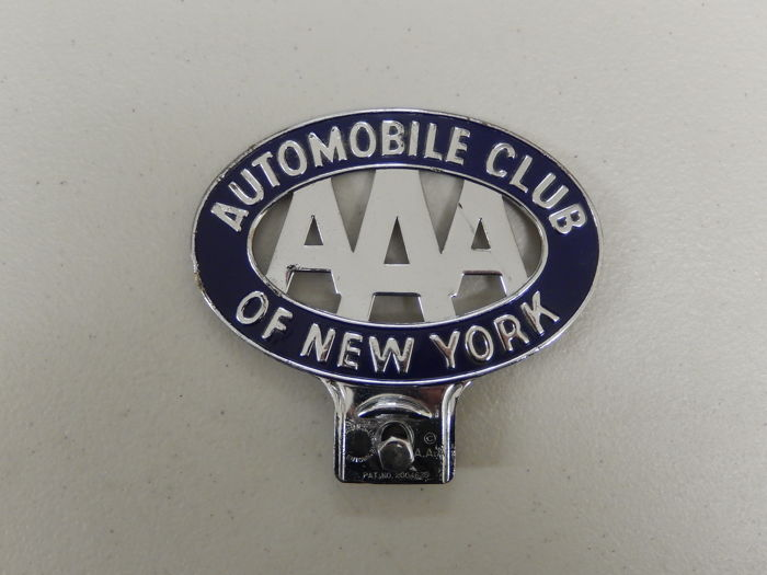 Aaa Auto Club Near Me >> Vintage Metal And Paint Aaa Automobile Club Of New York Club Car