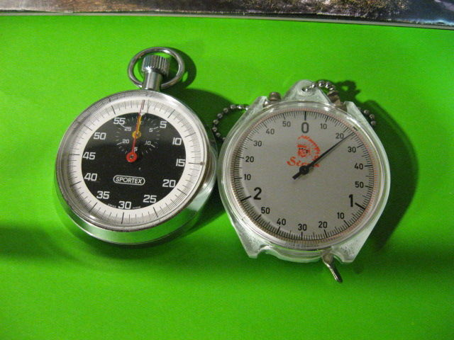 SPORTEX 60 sec - beautiful, 1970 + SIOUX stopwatch