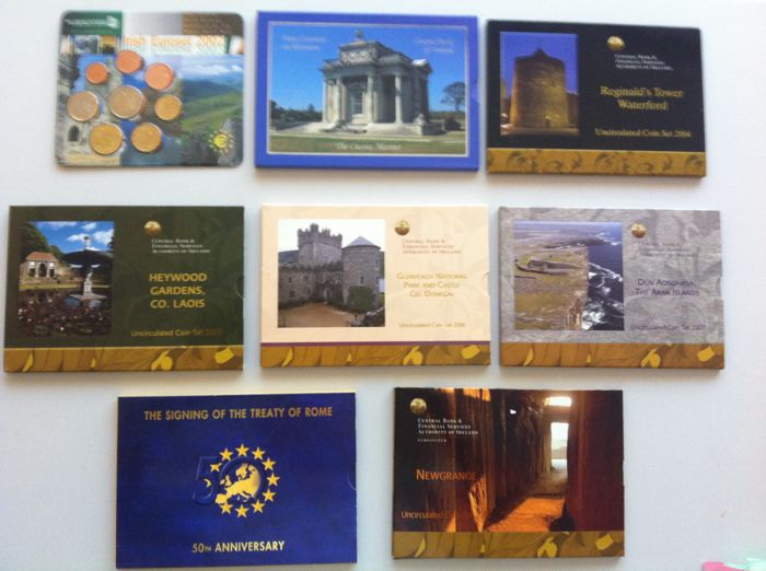 Ireland - 8 Cases BU 2002 TO 2008 + Case PRF 2006