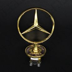 Mercedes-Benz gold star for the hood logo - W203 W204 W210 W211 W212 W221 W222