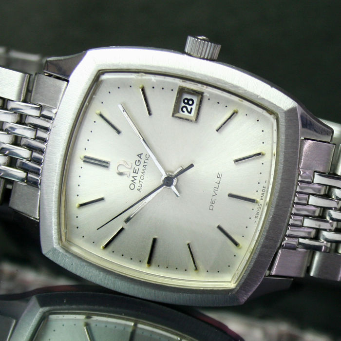 Omega - Deville Automatic Quick Set Date Steel Mens Watch  - 166075 - Uomo - 1970-1979