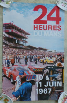 Poster of the 24 hours of Le Mans 1967